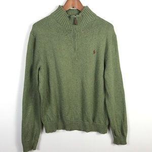 Polo Ralph Lauren Mens 1/4 Zip Pullover Sweater